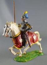 Elastolin Preiser - XV / XVIII century - Swiss Guard Mounted spear on right side (ref  8965)