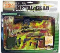 Elite Force Full Metal Gear - Real Die- Cast Metal Weapons Series 2 set A