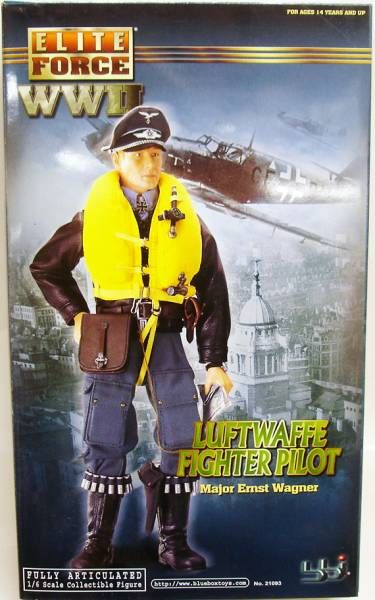 Elite Force WWII - Luftwaffe Fighter Pilot - Major Ernst Wagner
