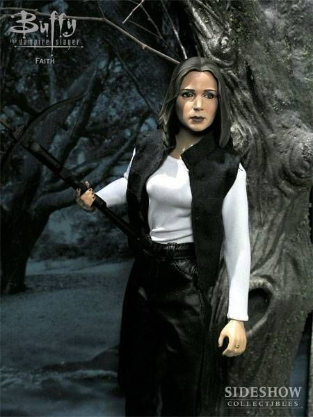 Eliza Dushku as Faith - Sideshow Toys 12 inches (mint in box)