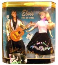 Elvis Presley - Mattel Barbie Collection - Barbie loves Elvis (gift set)