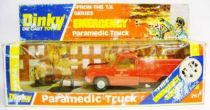 Emergency (TV series) - Paramedic Truck - Dinky Toys / Meccano 1978 ref. 267 Mint in box
