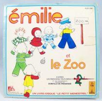 Emilie - Disque histoire racont�e 45T - Disque Ades 1979 01
