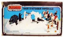 Empire strikes back 1980 - Imperial Attack Base (Loose with  Miro-Meccano box)