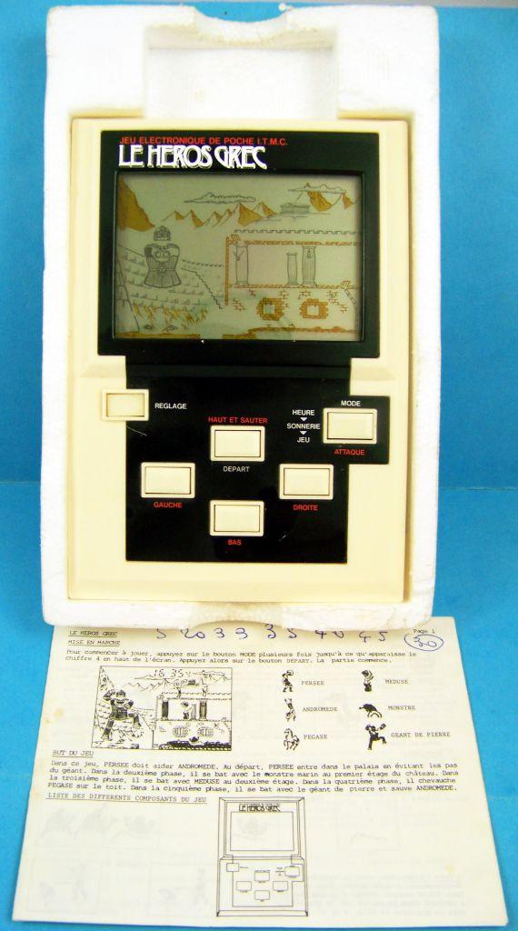 Epoch (ITMC) - Handheld Game Panorama Size - Le Héros Grec (en boite) 05
