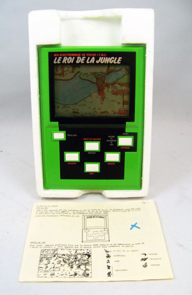 Epoch (ITMC) - Handheld Game Panorama Size - Le Roi de la Jungle (en boite) 05