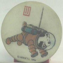 Eraser Lu rond premium Tintin