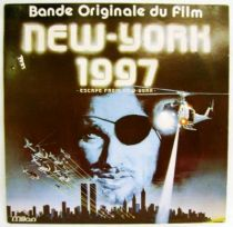 Escape from New York (Original  Motion Picture Soundtrack) - Record LP - Milan 1981