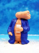 E.T. - LJN 1982 - PVC Figure - E.T with bathrobe & beer