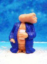 E.T. - LJN 1982 - PVC Figure - E.T with bathrobe & beer