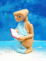 E.T. - LJN 1982 - PVC Figure - E.T. with book