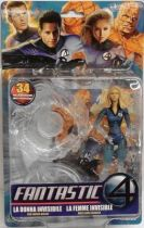 Fantastic Four The Movie - Power Blast Invisible Woman \'\'half-clear