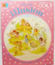 Fantasy Forest Illusion - 350 pieces round Jigsaw Puzzle MB (ref.625343602)