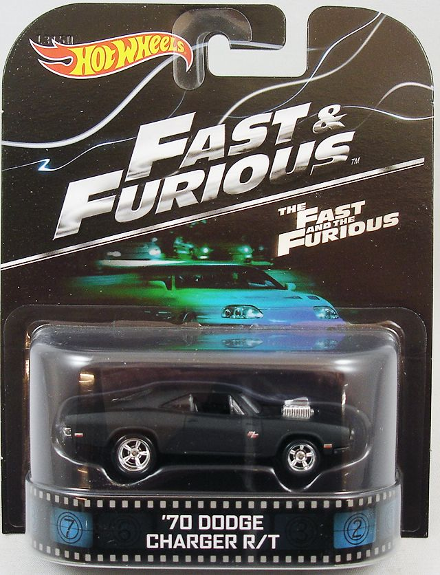 Fast Amp Furious Hot Wheels Mattel 67 Dodge Charger R T