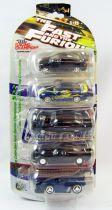Fast & Furious - Racing Champions (ERTL) 5-Cars Collector Set (métal 1:64ème) 1995 Honda Civic