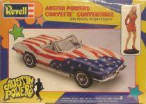 Felicity\'s Corvette 1:25 model-kit