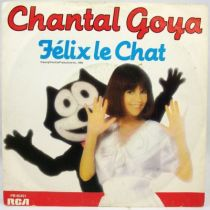 Félix le Chat - Disque 45T - chanté par Chanta Goya - RCA Records 1985