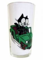 Felix the Cat - Mustard glass