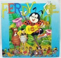 Ferdy the Ant - Mini-LP Record - Original French TV series Soundtrack - AB Kid 1990