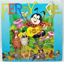 Ferdy the Ant - Mini-LP Record - Original French TV series Soundtrack - AB Kid 1990