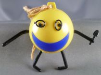 Figurine Publicitaire Ala - Mascotte Plastique - Bouche Bleue