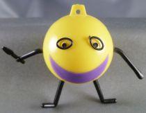 Figurine Publicitaire Ala - Mascotte Plastique - Bouche Violette