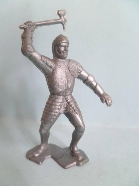 Figurine Publicitaire Bonux - Soldats du Moyen-Age - Attaquant hache