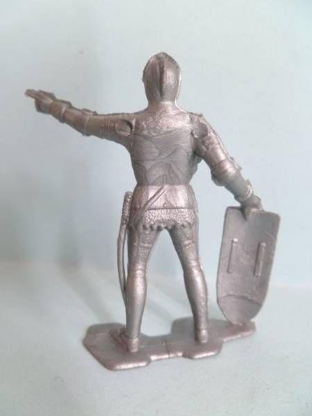 Figurine Publicitaire Bonux - Soldats du Moyen-Age - Pointant du doigt