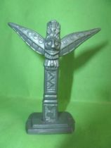 Figurine Publicitaire Café Legal Far West n° 15 Totem (Legal gris)