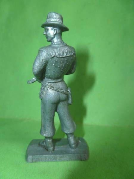 Figurine Publicitaire Café Legal Far West n° 36 Percy (Legal gris)
