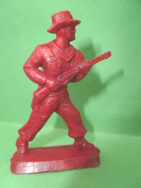 Figurine Publicitaire Café Legal Far West n° 55 Mike (souple rouge)