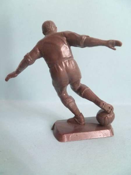 Figurine Publicitaire Café Martin Les Sports n° 10 Football (Sans Marque Bronze)