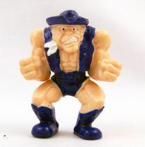 Figurine Publicitaire Kellogg\'s Frosties - Monster Wrestler in my Pocket - Texas Turbo