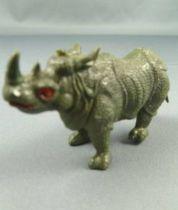 Figurine Publicitaire Prior (Biscottes) - Animaux Sauvages 2ème Série - Rhinocéros d\'Afrique