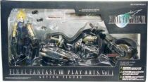 Final Fantasy VII - Cloud Strife & Hardy Daytona - Diamond action figure
