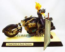 Final Fantasy VII - Cloud Strife & Hardy Daytona - Statue en resine cold-cast 1/8ème Kotobukiya