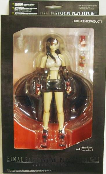 Final Fantasy VII - Tifa Lockhart - Diamond action figure