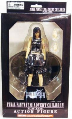 Final Fantasy Vii Advent Children Tifa Lockhart Figurine Play Arts Diamond