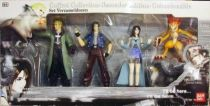 Final Fantasy VIII - Figures Collector set (Seifer, Laguna, Linoa, Moomba & Angel) - Bandai