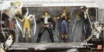 Final Fantasy VIII - Figures Collector set (Squall, Zell, Selphie & Edea) - Bandai