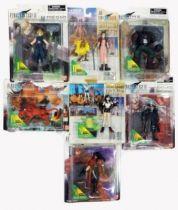 Final Fantasy VIII - Set of 7 Figures Etra Knights Collection - Bandai