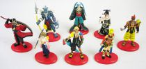Final Fantasy X - Set of 8 Coca-Cola premium figures (game version)