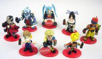 Final Fantasy X - Set of 8 Coca-Cola premium figures (Super-deformed version)