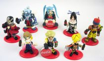 Final Fantasy X - Set of 8 Coca-Cola premium figures (Super-deformed version)
