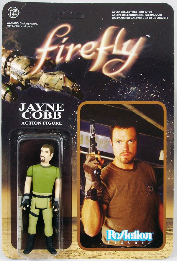 Firefly - ReAction Figure - Jayne Cobb