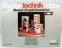 Fischertechnik - Experimentation Guidebook Hobby 4 Volume 1