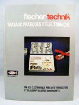 """Fischertechnik - Guidebook \""""Practical work in Electronic\"""""""