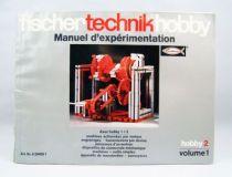 Fischertechnik - Manuel d\'Expérimentation Hobby 2 Volume 1