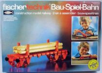 Fischertechnik - N°30115 Construction model railway Bogie-wagon with logs