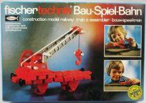 Fischertechnik - N�30118 Construction model railway Crane wagon